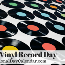 August 12th is Vinyl Record Day!