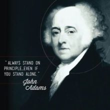 Born Oct. 30, 1735 – John Adams