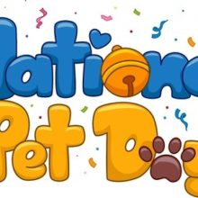 April 11th is National Pet Day!