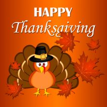 Happy Thanksgiving – Nov. 23