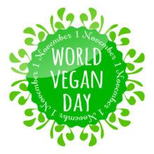 November 1 is World Vegan Day