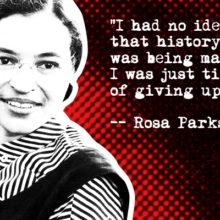 December 1, 1955  Rosa Parks Ignites Bus Boycott