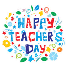 May 9 is Teacher's Day