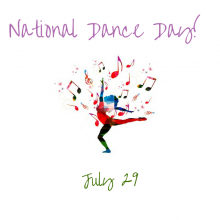 July 29 – National Dance Day