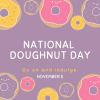 Indulge in Donuts on November 5!